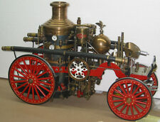 Fire Truck Live Steam Engin American La France Hand Machined from Coles Castings