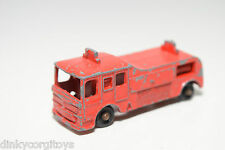 TUF-TOTS TUF TOTS LONE STAR FIRE ENGINE BRIGADE VAN TRUCK GOOD CONDITION.