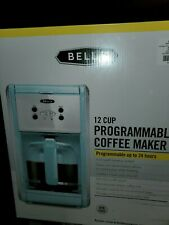 Blue Bella 12 Cup Programmable Coffee Maker New