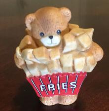 Lucy & Me Enesco Vintage Fries Bear Figurine 1990