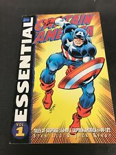 Essential Marvel Comic Vol 1 Captain America 100-102 Tales Of Suspense #59-99
