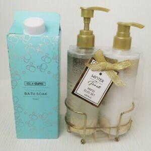 HAND Duo SET Hand Wash Lotion Foam Party Bath Soak winter Frost Vanilla  F812