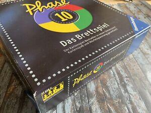 PHASE 10 - Das Brettspiel - von Ravensburger - 100%vollzählig TOP!