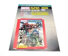 Panini 50 Packs Marvel Super Heroes Stickers Packets Free 2017 Lucca Comics