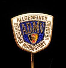ADMV Allgemeiner Deutscher Motorsport Verband Car Racing Association Pin Badge