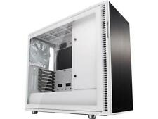 Fractal Design Define R6 White Brushed Aluminum/Steel ATX Silent Modular Tempere