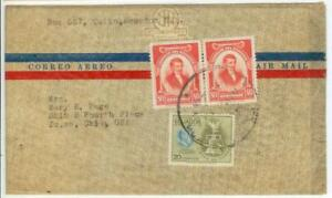 c1948 Ecuador cover - President Franklin Roosevelt issue
