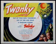 THE TWONKY ARCH OBOLER HANS CONREID CULT TV SCI-FI 1953 TITLE CARD NEAR MINT