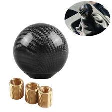 Car Accessories Shift Knob Universal Shifter Manual Gear Kit Black Carbon Fiber