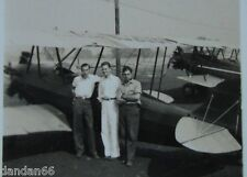 1937 Airplane photo Monrovia Ca Airport NC209V Foothill Flying Fairchild KR-21A