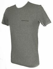 T-shirt maglietta giro uomo TRUSSARDI JEANS TR0079 taglia M c.135M GRIGIO GREY