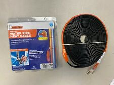 (Lot Of 2) Frost King 30 ft. Automatic Electric Water Pipe Heat Cable Kit *NEW*