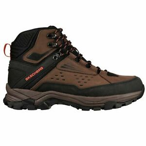 Skechers Men's 65755 Relaxed Fit Polano Norwood Waterproof Hiking Boots