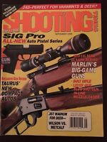 Shooting Times Sept 1998, New Sig Pro Pistol Series, Marlin Big Game Guns