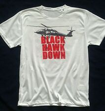 tshirt BLACK HAWK DOWN special force movie DVD marines fast rope