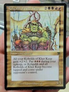 Vintage Magic | NM/MINT MTG Legends Rohgahh of Kher Keep, NO RESERVE!!!