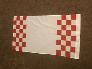 ARSENAL Red & White Flag Put Own Slogan On NORTH BANK Highbury Gunners Emirates