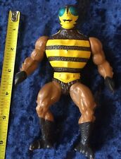 """1983 Mattel Buzz Off 6"""" Action Figure He-Man Masters of the Universe Bee 80s"""
