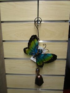 Regal Art & Gift Blue Butterfly Ornament w/Bell