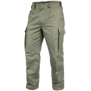 Genuine GERMAN ARMY ISSUE MOLESKIN OD PANTS field combat BW olive trousers NEW
