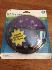 GE LED 17457 Twinkle Star Tap Light New
