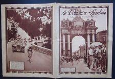 1930 DOMENICA SPORTIVA Giro d'Italia Learco Guerra Ancona-Forli Michele Mara