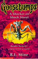 A Shocker on Shock Street (Goosebumps), Stine, R. L. , Acceptable, FAST Delivery