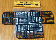 Central Valley HO #1603 Switch Detail Parts (3 Sprues of parts) Plastic