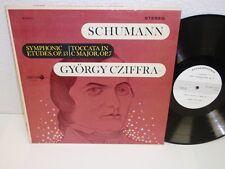 GYORGY CZIFFRA Schumann Symphoni Etudes/ Toccata LP Decca Gold Label DL710115 NM