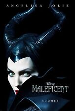 Maleficent (2014) Movie Poster (24x36) - Angelina Jolie, Elle Fanning