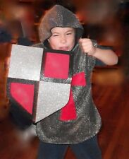 Child Castle Princess' English Knight 3 Piece Halloween Dress Up Costume Small