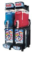 CAB Faby Two Bowl Slush Puppie Machine Granita Smoothie Icee 1 Year Warranty