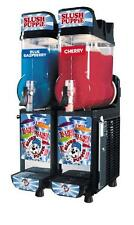 CAB Faby Two Bowl Slush Puppie Machine Granita Smoothie Icee 1 Year Warranty