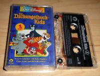 Hörspiel Kassette - Die Dschungelbuch-Kids 1. Folge - Walt Disney