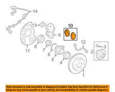 TOYOTA OEM Brake-Front Pads 0446535290