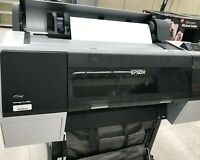Epson Stylus Pro 7890 Printer - ink manual tested w stand pick up ca
