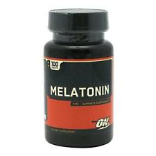 Optimum Nutrition Melatonina 3 MG-100 Tabletas
