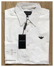 6a257c59 Emporio Armani Poplin Long Sleeve Shirt Slim Fit - Men's