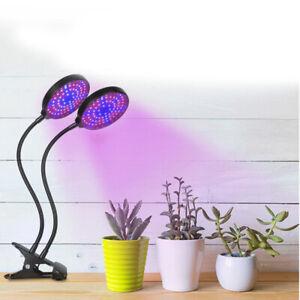 Lampe de Croissance 3 Modes de Minuterie LED Lampe Horticole pour Plantes Fleurs