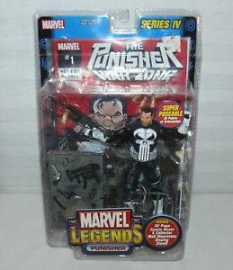 Marvel Series lV The Punisher War Zone With Comic Sealed Marvel Legends