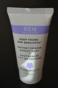 Sealed REN Keep young and beautiful Instant firming beauty shot travel size 10ml