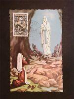 MONACO MK 1958 LOURDES BERNADETTE MAXIMUMKARTE CARTE MAXIMUM CARD MC CM c7708