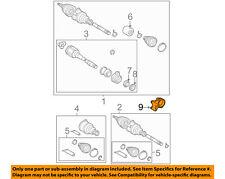 TOYOTA OEM Drive Axles-Front-Bracket 4345742010