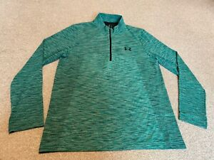UNDER ARMOUR THREDBORNE MEN`S LONG SLEEVE FITTED SPORT TOP SIZE L