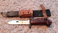 Romanian Bayonet Complete with Scabbard, Frog - Free Shipping