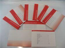 Generic Service History Book Suitable For Clio Laguna Megane Twingo Scenic