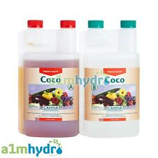 Canna Coco A+B 1 Litre Veg And Flower Plant Food Base Nutrients Hydroponics