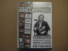 THE NICK BROOMFIELD COLLECTION Adventures In The Sex Trade 3 x DVD BOX SET - NEW