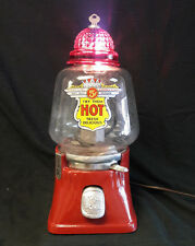 SILVER KING CO. HOT NUT - VINTAGE GUMBALL PEANUT CANDY VENDING MACHINE