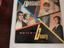 ENDGAMES -BUILDING BEAUTY  MCA 39013 VIRGIN 1984  VINYL LP
